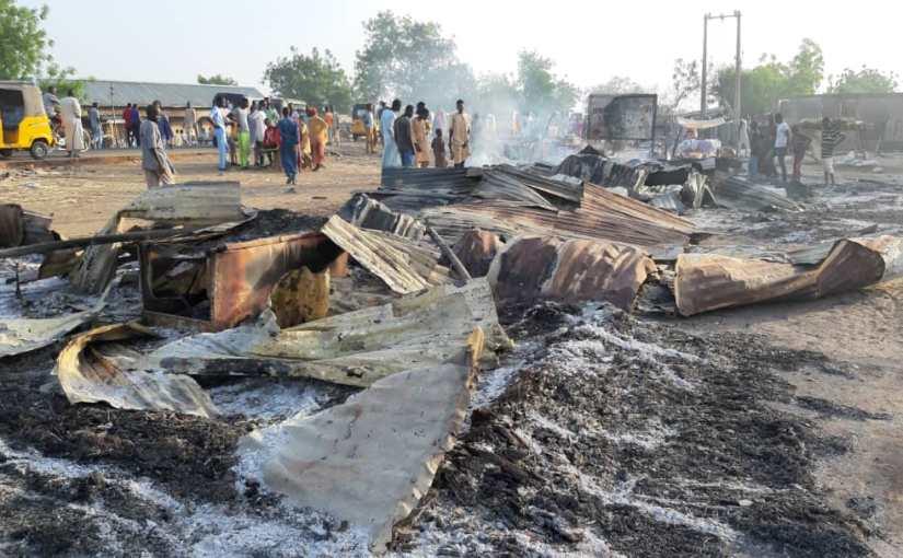 Boko Haram Ambushes Borno, Kills Many and Burns Houses InJakana