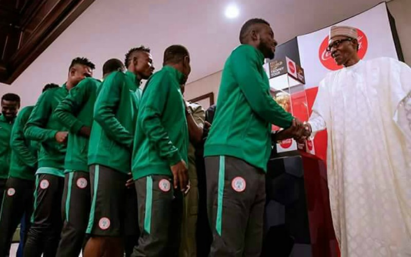 AFCON: President Buhari congratulates Super Eagles over victory against South Africa's Bafana Bafana