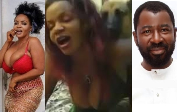 Man releases Cossy Ojiakor's s*x tape with dog (video)