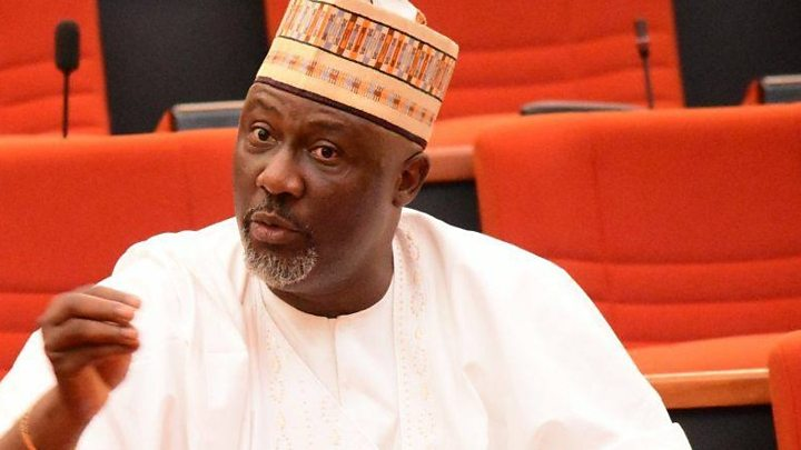 Dino Melaye fights for Nigerian masses at the senate house