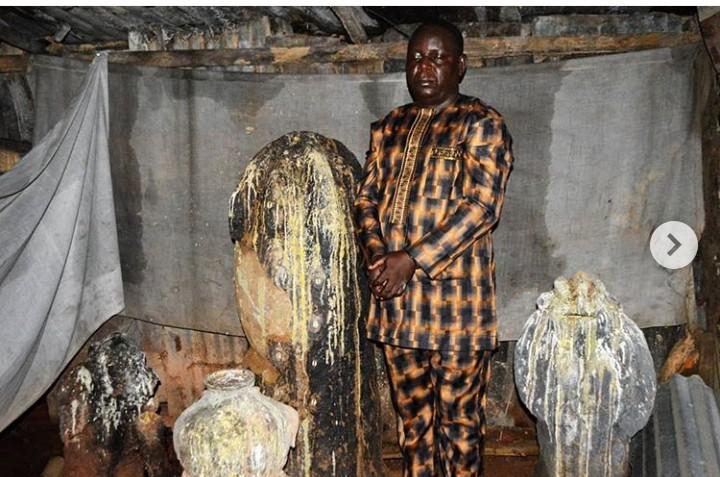 EFCC Arrests Fake Native Doctor In Ibadan(Photos)