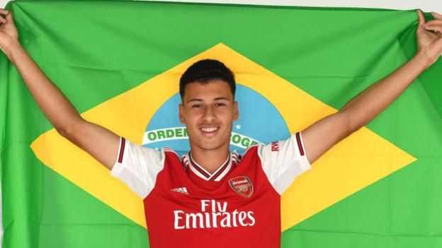Arsenal Signs 18 Year Old GabrielMartinelli