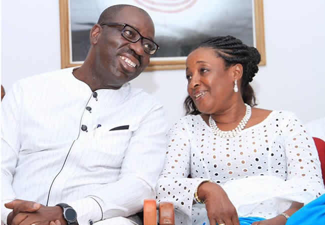 Darkness Cannot Comprehend The Light – Obaseki's Wife, Defends Him