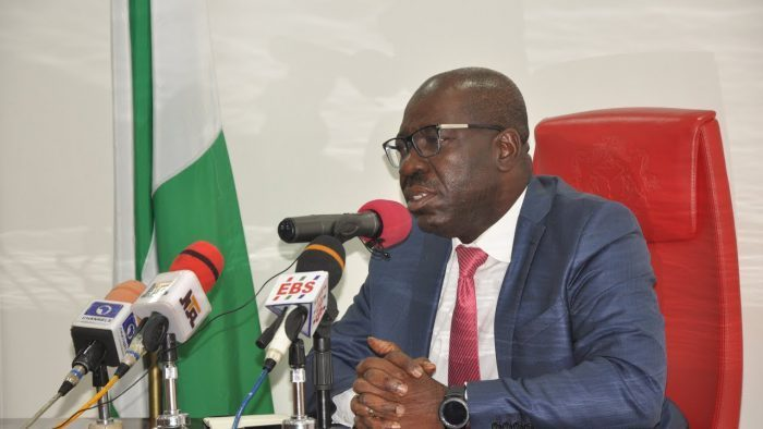 APC lawmakers storms National Assembly, demands proper inauguration of Edo Assembly by Governor Godwin Obaseki