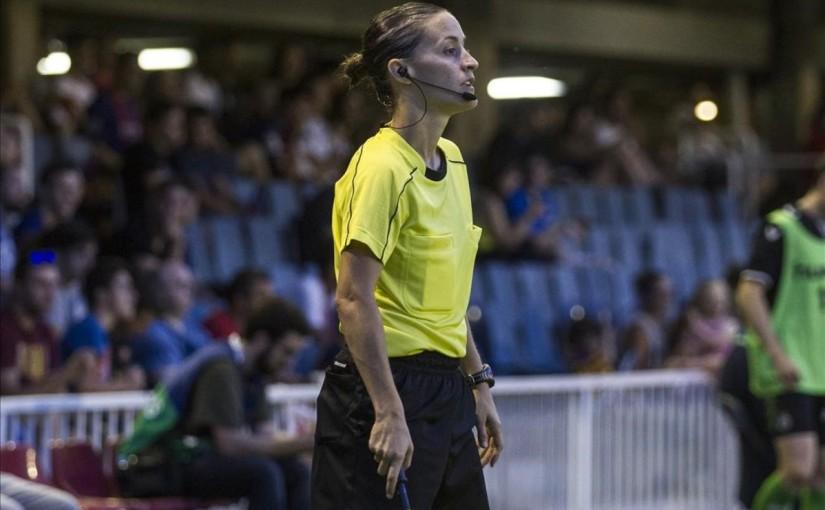 La Liga introduces it's first female referee for nextseason