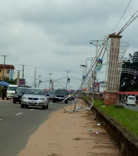 Gov. Ihedioha orders destruction of all Okorocha's constructions In Imo State(photos)