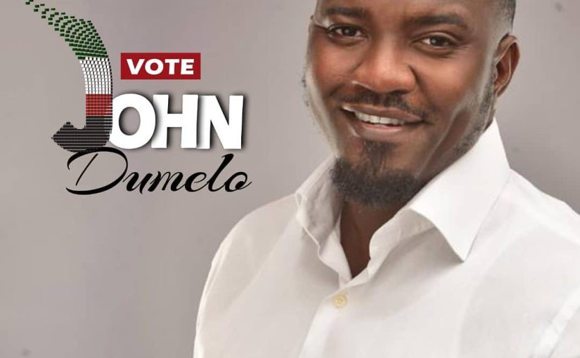 Ghanaian Actor, John Dumelo drops acting, Joins Politics