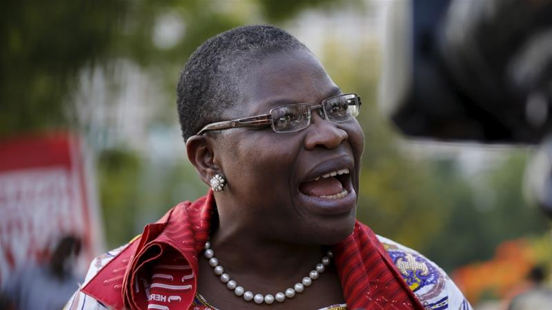 Oby Ezekwesili reacts on the allegation levelled against her,about planning a coup d'etat against President Buhari's government