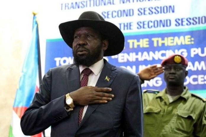 South-Sudan  President Salva Kiir  Bans Singing Of National Anthem In HisAbsence