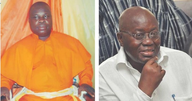 He is the president today because of my works in the spiritual realm – Ghanaian Prophet Kwabena Tawiah blasts Ghanaian President Akufo-Addo