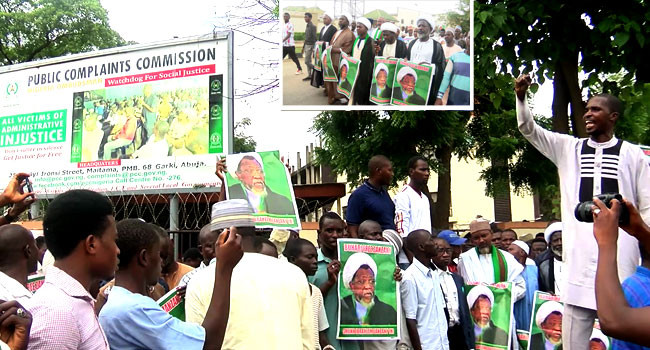 Shiites Protest On Streets Of Abuja After Clash WithPolice
