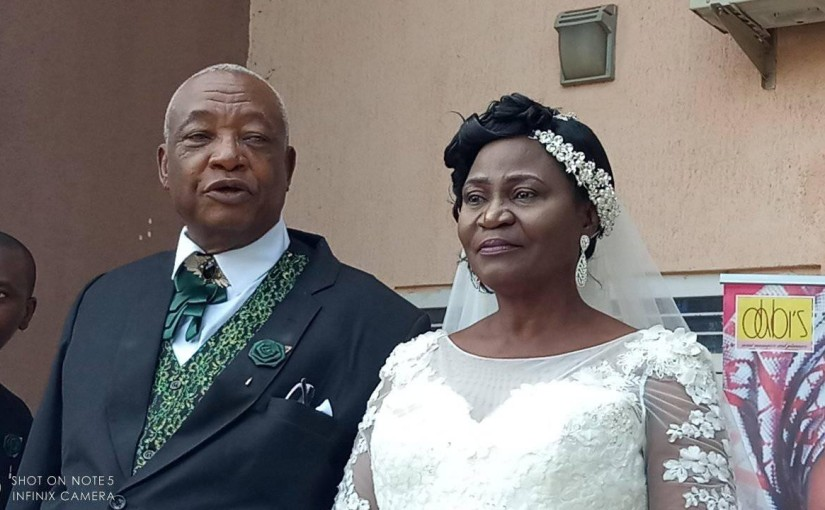 73-year-old Nigerian Evangelist, Matthew Owojaiye weds his 63 year old lover in Kaduna (photos)