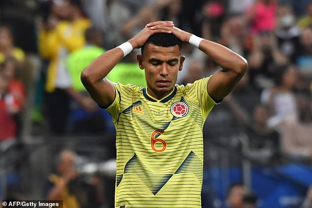 Colombia footballer, William Tesillo receives death threats for missing penalty againstChile