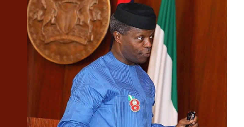 Christians are expected to pray for their enemies including insurgents- Osinbajo