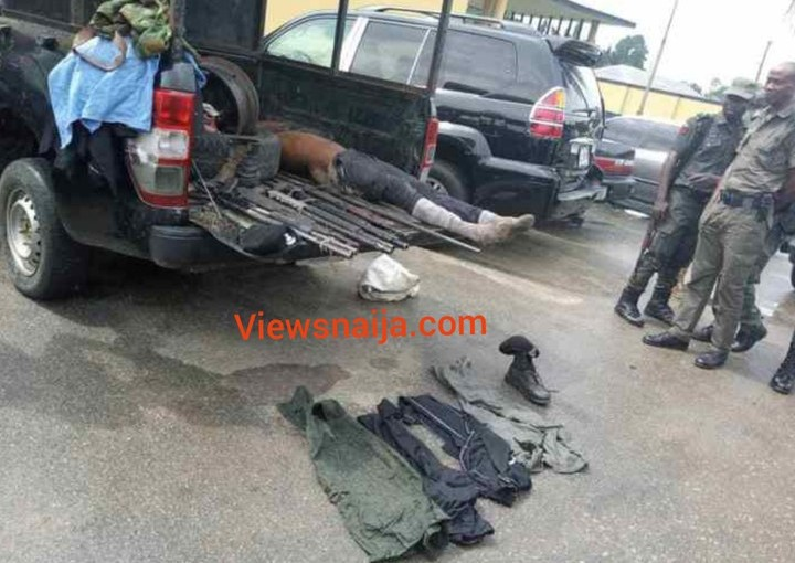 Port-Harcourt notorious kidnapper, Abacha killed by the police (graphic photos)