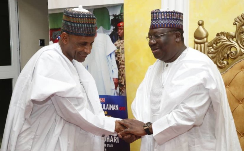 Even opposition party, supports me – AhmadLawan