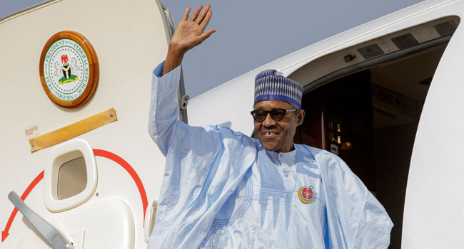 President Buhari Leaves Nigeria For Japan With Some State Governors