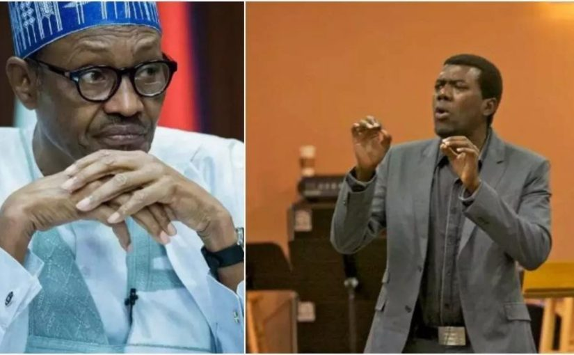 Even your homosexual cows don't believe you- Reno Omokri replies President Buhari who says 5 million Nigerians have been removed frompoverty