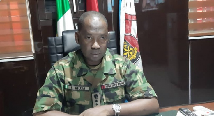We Killed The Three Policemen, Thinking They Were Kidnappers – Nigerian Army Spokesman, Colonel Sagir Musa