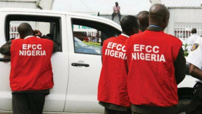 We were attacked by Ambode's hoodlums, while trying to raid his house –EFCC