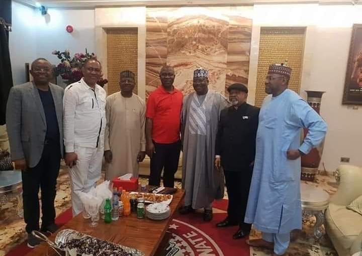 Germany attack: Senate President Ahmed Lawan, Chris Ngige, and other dignitaries pay Ekweremadu sympathy visit