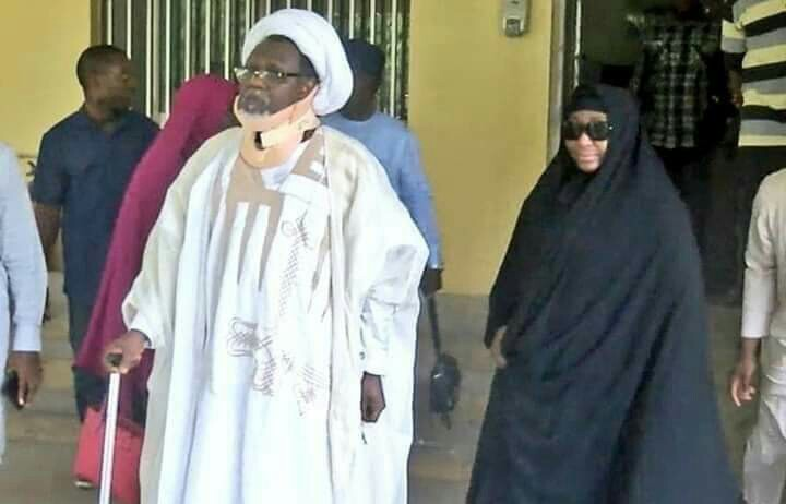 El-Zakzaky and his wife, Zeenat, to go on another medicaltrip