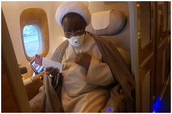 Barely 96 hours after landing in New Delhi, El-zakzaky Discharges Him Self From Hospital, Returns To Nigeria