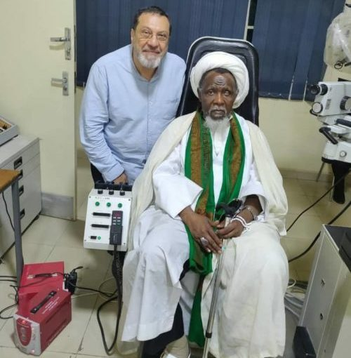El-Zakzaky placed on a serious treatment in India (photos)