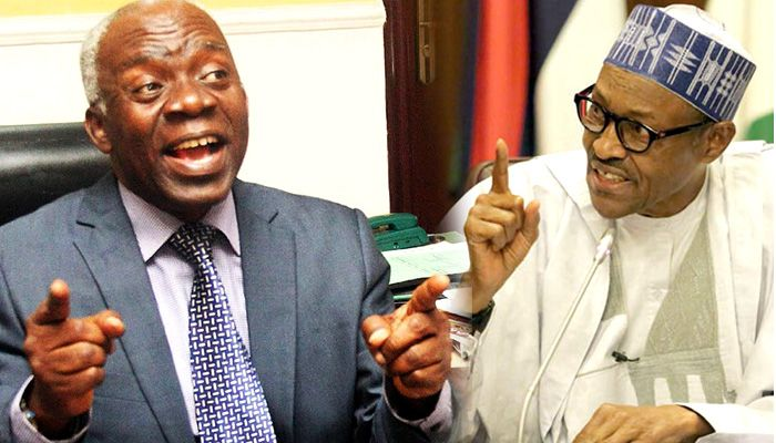 Buhari has disobeyed more than 32 court orders from me – Falana