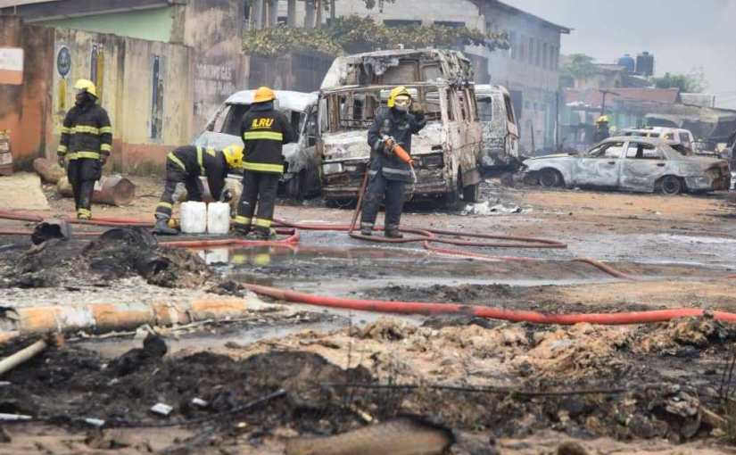 Katangowa Market razed down byfire