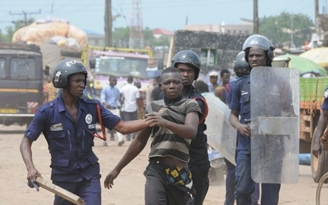 12 Nigerians arrested in Ghana for kidnapping a 20-year-oldgirl