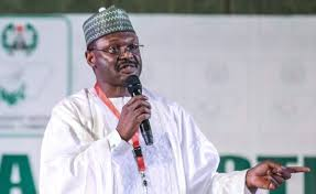 We electronically transmitted results of this year's presidential election, but that it was a pilot scheme not yet backed by law – INEC