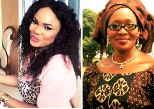 Kemi Olunloyo gets her greatest 55th Birthday surprise, As Iyabo Ojo Storms the Party (photos)