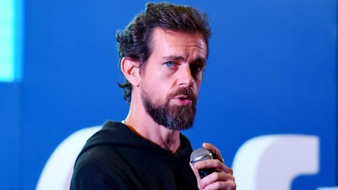 CEO and co-founder of Twitter, Jack Dorsey's account Hacked