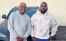 Kanye West gifts his long-time manager John Monopoly a brand new Lamborghini SUV for his birthday(Photo)