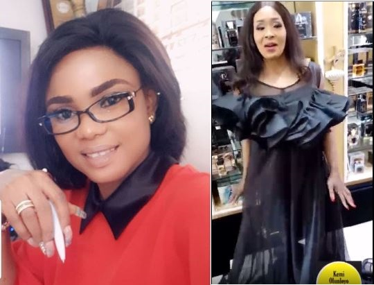 Kemi Olunloyo finally ends feud with actress, Iyabo Ojo, apologises to her