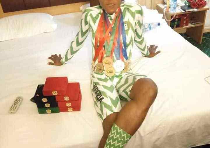 Nigerian teenage cyclist Mary Sunday Samuel Wins 7 Medals InGermany