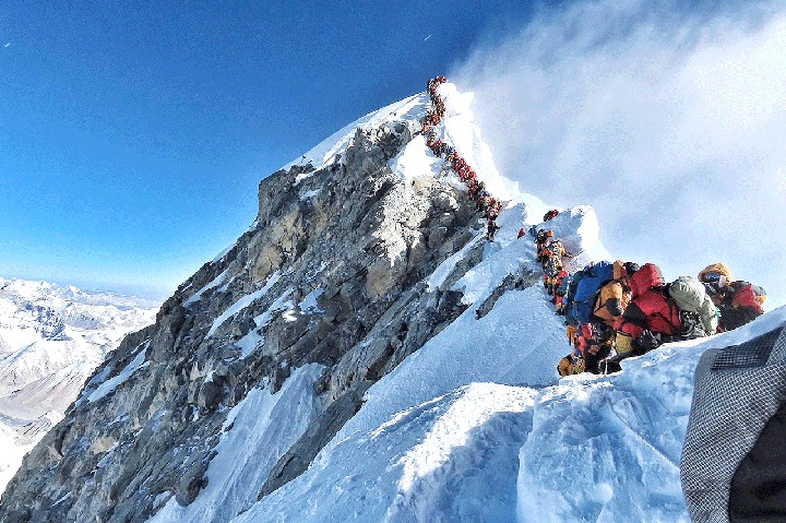 Mount Everest climbers to pay  ₦18million Fee before climbing – Nepal Government