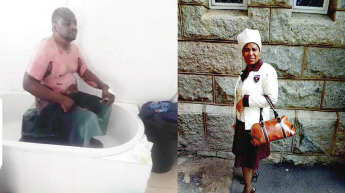 Wicked Church Woman pours hot water on her husband for not picking her fromchurch