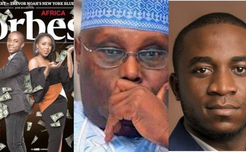 Forbes, Atiku and Others Who Were Promoting Invictus Obi, Under Fire