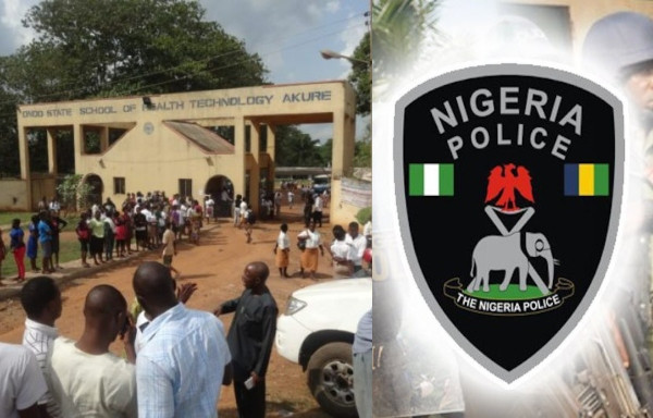 Ondo health school students arrested for gang-raping their schoolmate