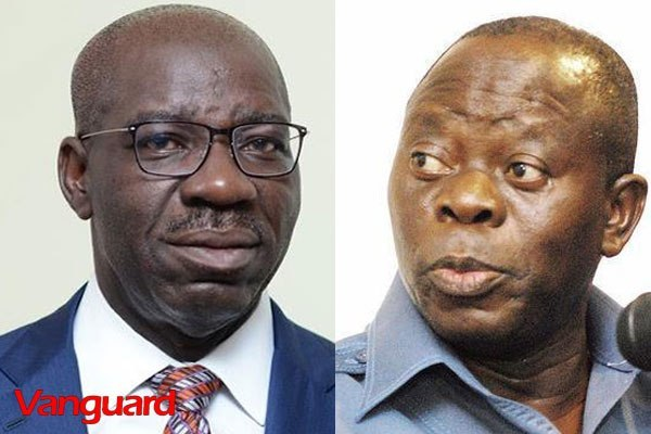 Governor Obaseki Suspends Oshiomhole's Local Government Area Chairman