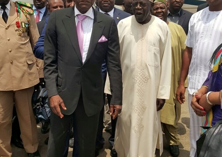 President Alpha Condé of Guinea visits Buhari in Daura to bribe him for his friend Tinubu, Ahead Of 2023