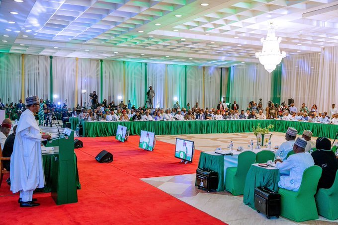 Our Administration's eight years will have laid the grounds for lifting 100 million Nigerians out of poverty in 10 years – Buhari tells the Ministers