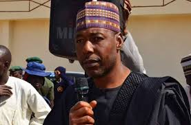 Borno State Governor, Professor Babagana Zulum uses Qur'an to curse those diverting IDPs' items (photos)
