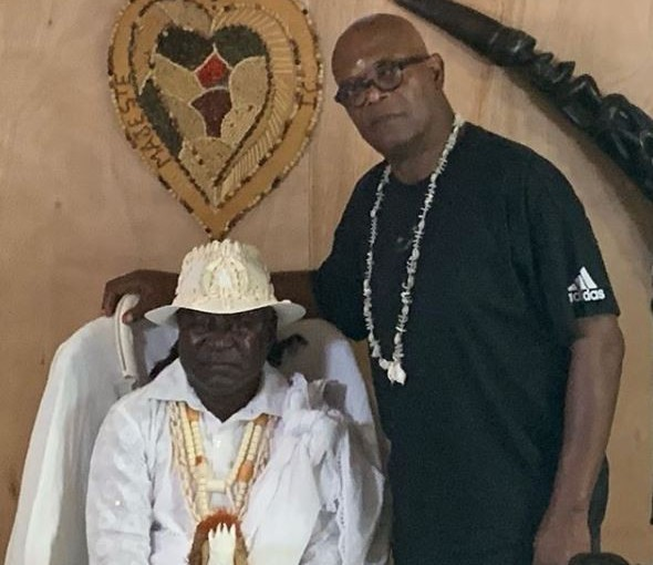 Legendary American actor and film producer Samuel L. Jackson traces his ancestral origin to Gabon