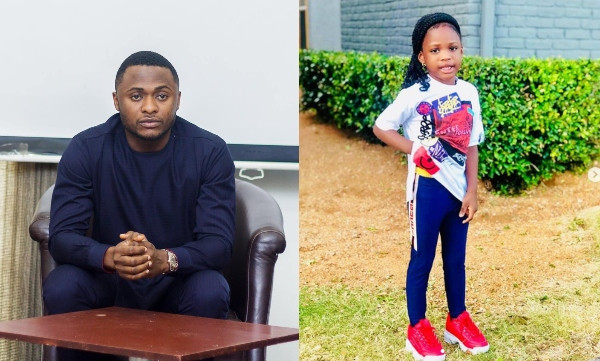 Am finished, I now live with the emotions of three women, I wouldn't wish my enemy that – Ubi Franklin cries out on daughter's birthday