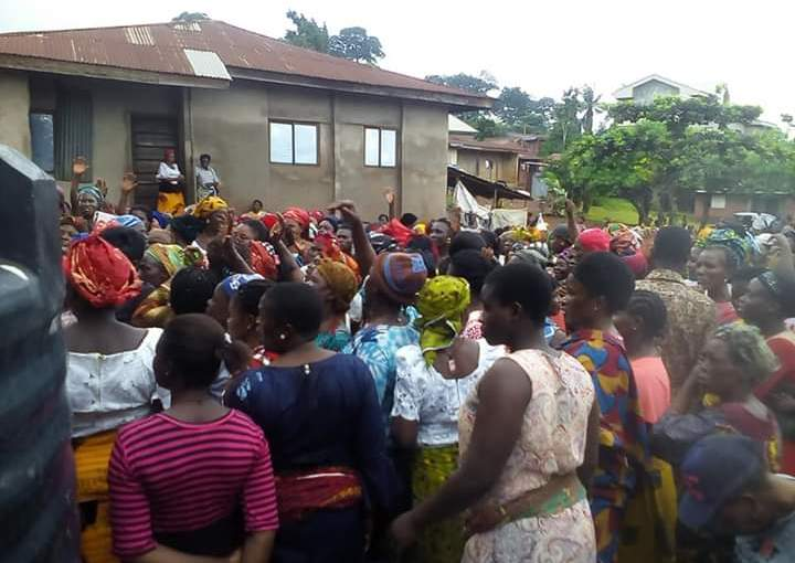 Enugu Women Protest Against Herdsmen Killing, Kidnapping & Raping Them