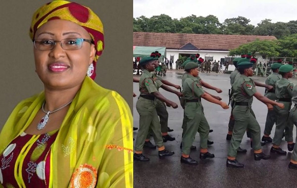 The military authorities should  deploy female soldiers to fight against insecurity – Aisha Buhari