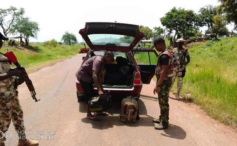 5 key terrorists logistics and firefighters arrested by the Nigerian Army